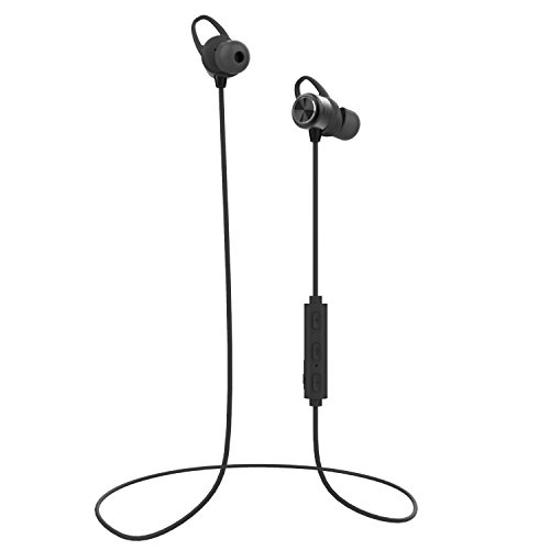 Wireless Magnetic Bluetooth Earbuds | Forone IPX7 Waterproof Headphones with Stereo Sound | Sport in-Ear Noise-Cancelling Headset with Mic | Bluetooth 4.1, aptx, 8 Hours Play Time, Secure Fit Design