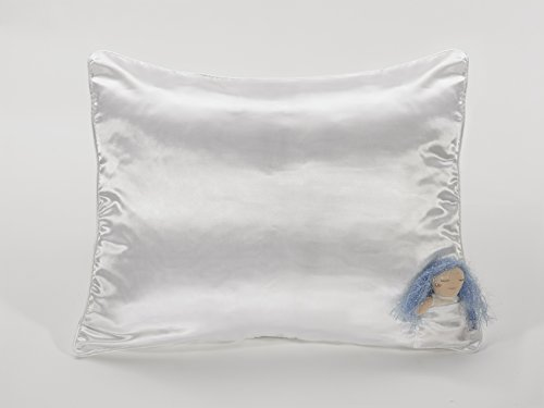 Hair Fairy Bedding Co. No Tangles Satin Pillowcase for Girls with Doll - A Great Gift for Girls 3+