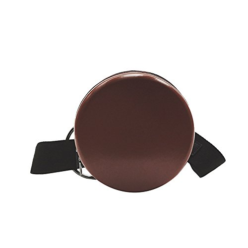 À Meaeo À Bandoulière Cuir Verni Sac En Sauvage Mode Sac Noir Bandoulière Brown RqqwAO5n