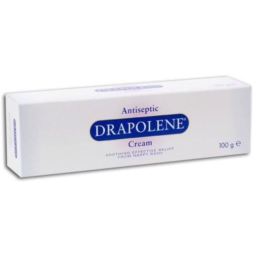 Drapolene Antiseptic Cream 100g, for Effective Relief From Nappy Rash (Drapolene Cream)