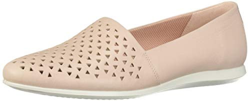 ECCO Women's Touch Ballerina 2.0 Ballet Flat Perforated Shoes