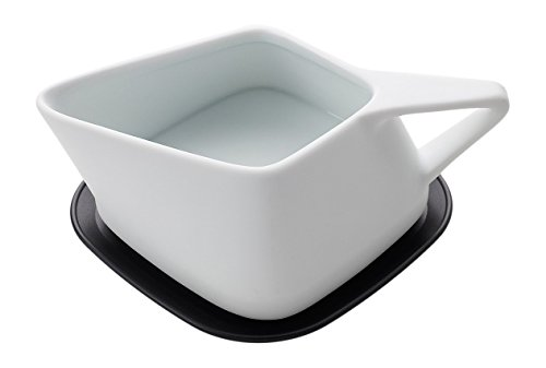 That! 'Heat That' Warming Gravy Boat and Hot Plate, White