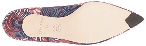 Cole Print Satin 45mm Haan Vesta Tropical Women's Palm Pump rwrPpA