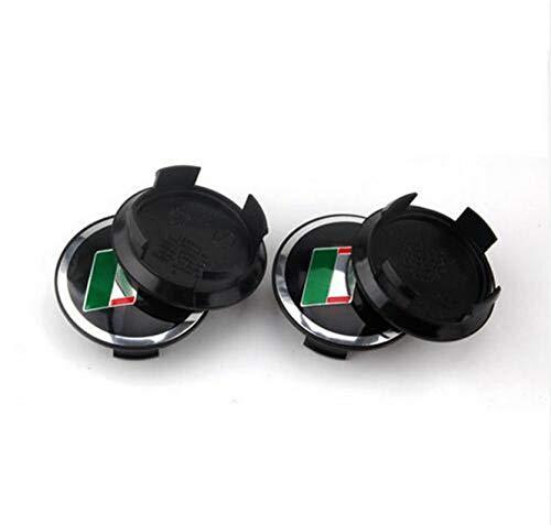 Carsticker 58MM 4PCS for Jaguar R Alloy CAR Wheel Center Logo HUB Cap Badge Emblem R Crest