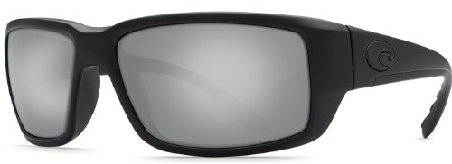 Costa Del Mar Fantail 580G Fantail, Blackout Silver Mirror, Silver - Mar Mirror Del Silver Fantail Costa