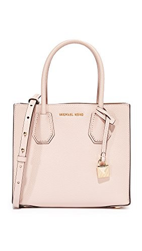 2b0adaf42554 MICHAEL Michael Kors Women's Mercer Messenger Bag, Soft Pink, One Size by MICHAEL  Michael