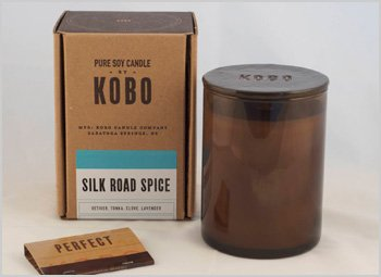 Silk Road Spice Kobo Soy Candle From The Woodblock Collection