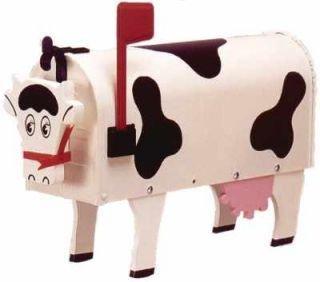 #1006 Original Cow Novelty Mailbox ()
