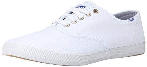 Keds Men's Champion Original Canvas Sneaker, White, 10 M US