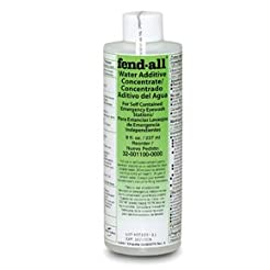 8 Ounce Eye Wash Station Water Preservat...