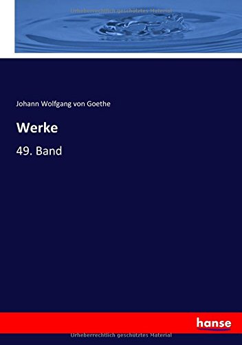 Werke: 49. Band (German Edition) pdf epub