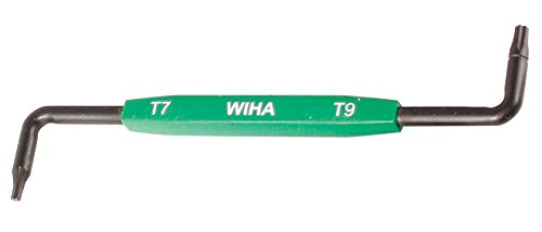 (WIHA 20760 Torx Offset Screwdriver with Molded Handle, T27 + T30 x 4.9