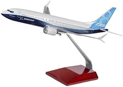 (ボーイング) Boeing Unified 737 MAX 8 プラスチック モデル (1/200) 飛行機 ダイキャスト 模