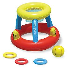 Water Basketball with Ring Toss Game by Poolmaster (Image #1)