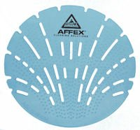 AFFEX Sea Gem Urinal Screen, Mountain Air, 10 Screens Per Box