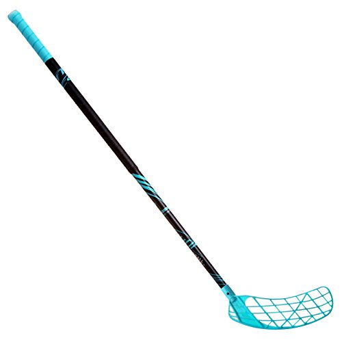 (ACCUFLI Floorball Stick A90 Right 40inch Curved Blade (Teal))