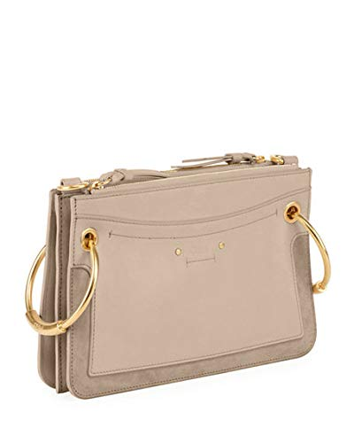 Chloe Roy Mini Leather Suede Double-Zip Shoulder Bag made in Spain   Handbags  Amazon.com ec391551787c7