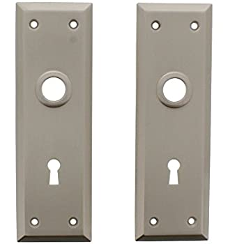 Mortise Trim Plates 2 Pack In Polished Brass Set Of 10