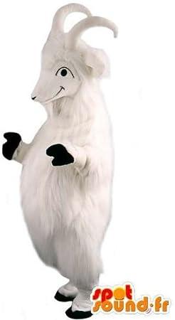 Traje blanco de cabra: Amazon.es: Juguetes y juegos