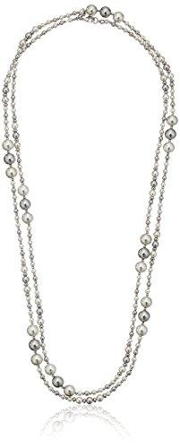 Carolee Grey Pearl Rope Pearl Strands, (Carolee Set Bracelet)