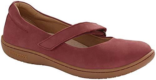 Birkenstock Women's Lora Shoe Wine Nubuck Size 39 M EU