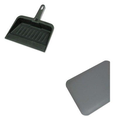 KITMLL44020350RCP2005CHA - Value Kit - Guardian Pro Top Anti-Fatigue Mat (MLL44020350) and Rubbermaid-Chrome Heavy Duty Dust Pan (RCP2005CHA)