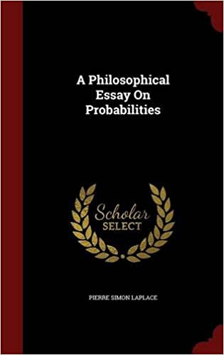 a philosophical essay on probabilities amazon co uk pierre simon  a philosophical essay on probabilities amazon co uk pierre simon laplace 9781297641763 books