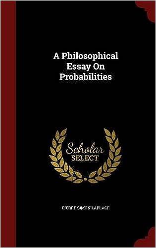a philosophical essay on probabilities amazon co uk pierre simon  a philosophical essay on probabilities amazon co uk pierre simon laplace 9781297641763 books