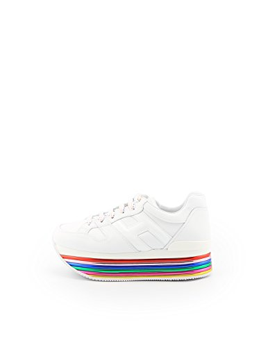 Zapatillas Blanco de Mujer Hogan Bianco Cuero para ZwdqZAH