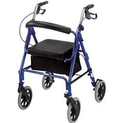 Amazon.com: duro-trek aluminio ligero andador con ruedas ...