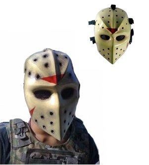 DIY Professional Deal: Heat Jason Hockey NHL Full Face Mask for AIRSOFT HOCKEY GOGGLE MASK,Airsoft Hockey mask,Heat mask,Goalie mask,Goalie masks,Goaltender masks,Airsoft face mask,Paintball masks,Paint ball mask,Army of two airsoft mask,Masks paintball,mask,bb gun (Original - Made to (Camo Hockey Mask)