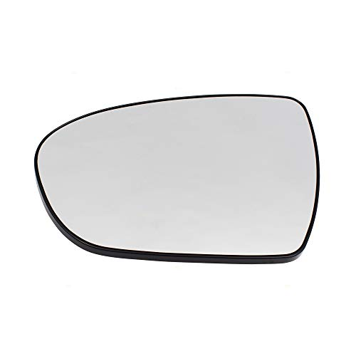 Drivers Side View Mirror Glass & Base Heated Replacement for KIA Optima 876112T110