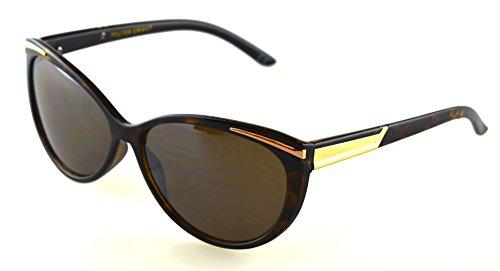 Foster Grant Animated Cat Eye Sunglass Tortoise Frame Brown - Animated Sunglasses