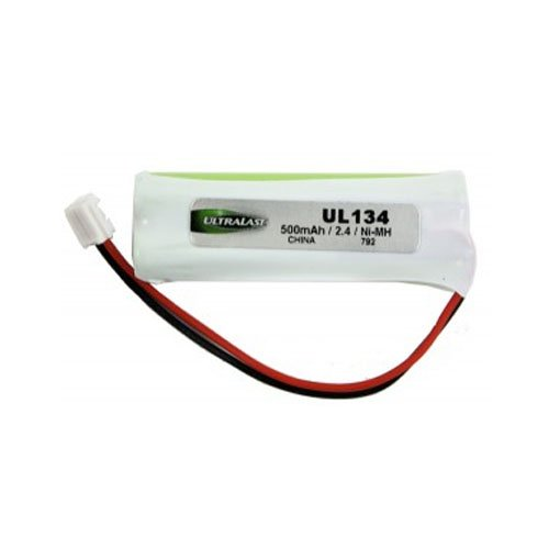 ULTRALAST Vtech CS6419 Cordless Phone Battery Replacement For 2 AAAA w/JST - Vtech 89-1337-00-,BT28433 Battery -  194805-UL134