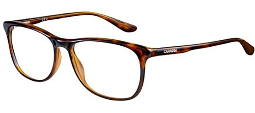 Carrera 6622 Eyeglass Frames CA6622-0DWJ-5516 - Havana Frame Lens Diameter 55mm Distance Between