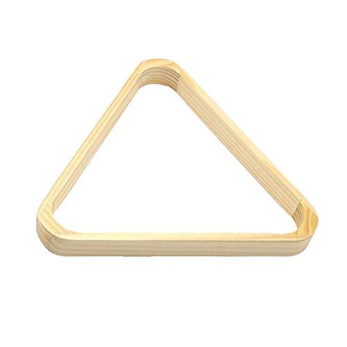 IMFUN Diamond Billiard Ball Racks Wooden Diamond Tripod 9 Ball Rack (A) ()