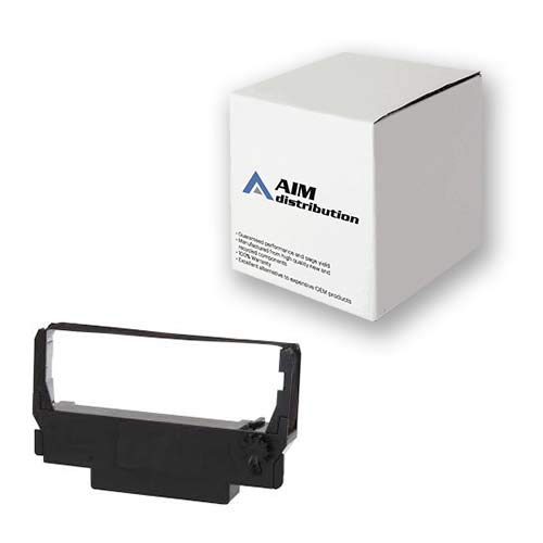 AIM Compatible Replacement for NCR 7455/K910 Black/Red P.O.S. Printer Ribbons (6/PK) (123550) - Generic ()
