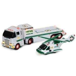 Truck Gasoline - Hess Gasoline Truck Transporter with Helicopter 2006