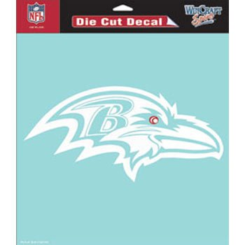 WinCraft NFL Baltimore Ravens WCR25668061 Perfect Cut Decals, 8