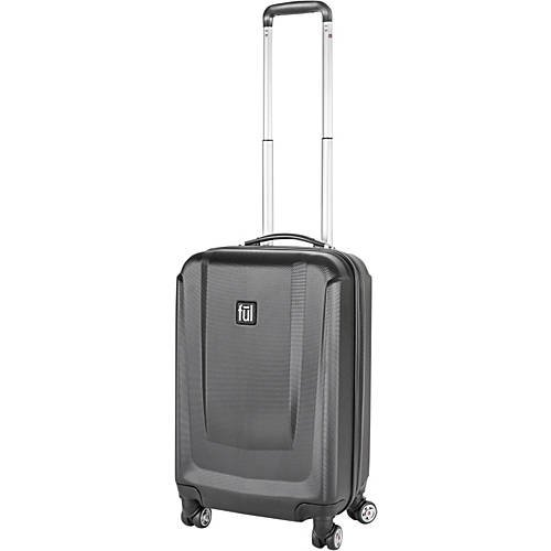 Load Rider Series 20in Spinner Upright Luggage Black (Best Upright Spinner Luggage)