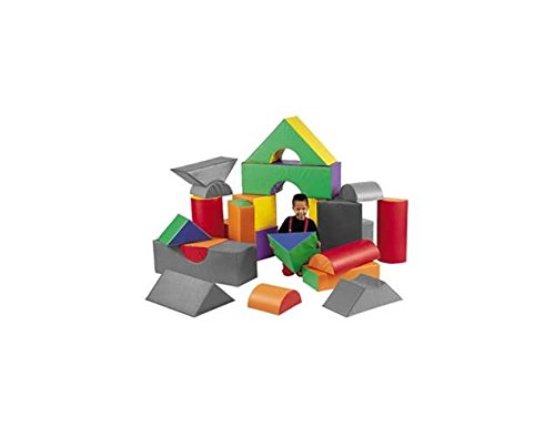 12 in. Big Blocks Set B by Children's Factory