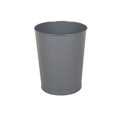 11-Gal Large Round Wastebasket [Set of 3] Color: Gray
