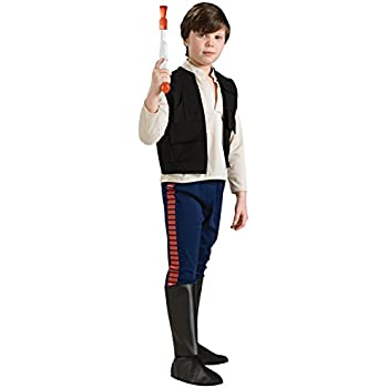 Rubie's Costume Co Star Wars Classic Child's Deluxe Han Solo Costume, Small