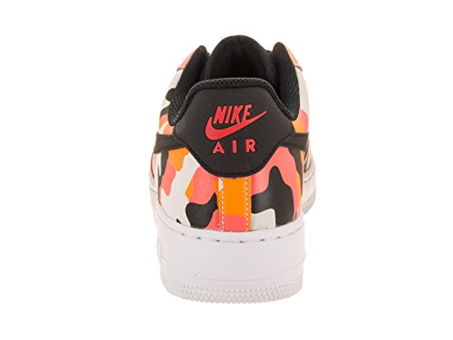 NIKE Max Air Team Thea Sneaker Black Orange rIrSwx