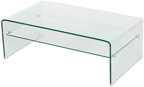 Christopher Knight Home Salim 12mm Tempered Glass Coffee Table