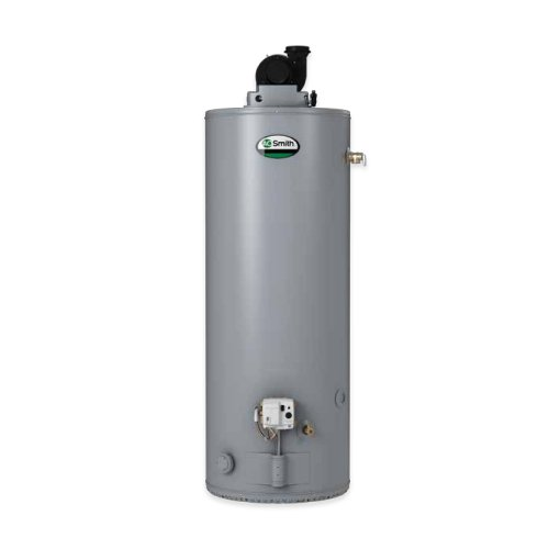 A.O. Smith GPVL-50 ProMax Power Vent Gas Water Heater, 50 - Power Water Gas Heater Vent