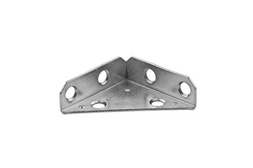 - Stanley Hardware S755-550 992 Triangle Corner Brace in Zinc, 2