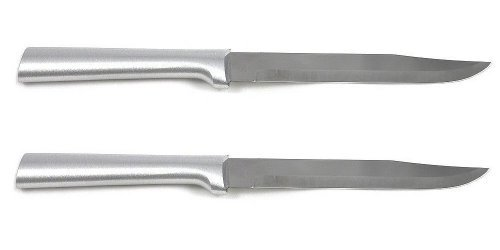 Rada Cutlery Utility Steak Knife with Aluminum Handle Pack of 2 by Rada Cutlery