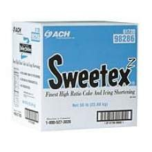 Sweetex Z Cake and Icing Shortening, 50 Pound -- 1 each. by Stratas Foods