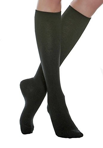 Maxar rejuvenating compression support socks, unisex, x-large, dark grey